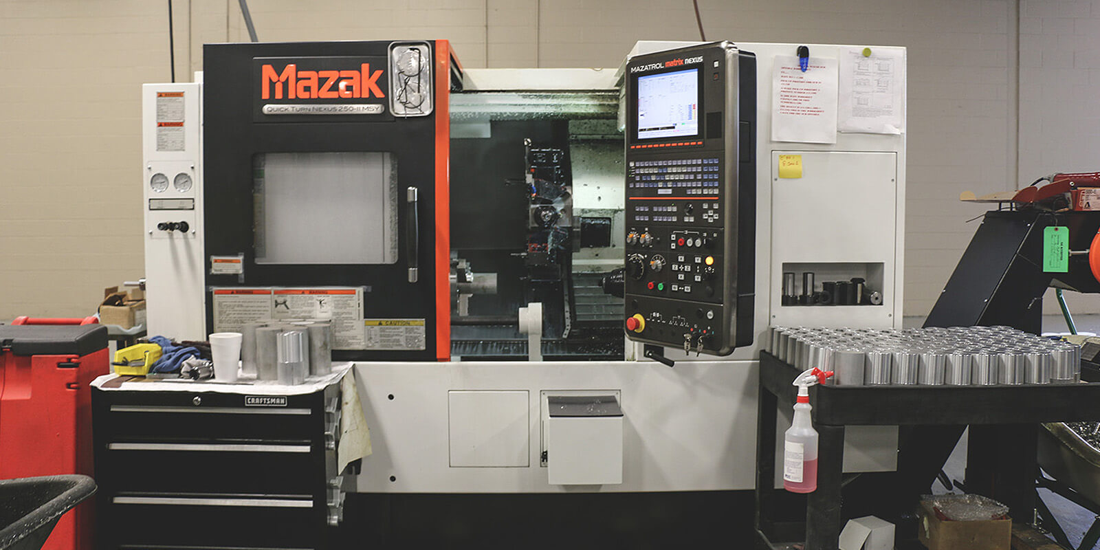 Mazak 250MSY | Y-Axis | Live Tooling